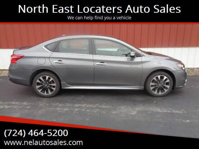2019 Nissan Sentra for sale at North East Locaters Auto Sales in Indiana PA