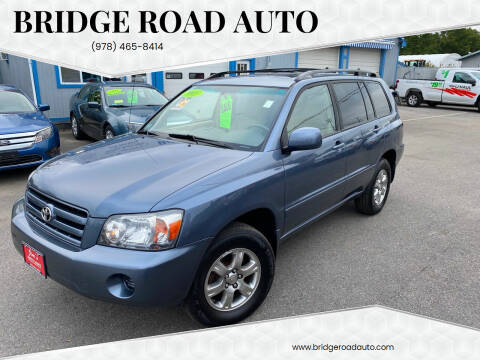 2005 Toyota Highlander for sale at Bridge Road Auto in Salisbury MA