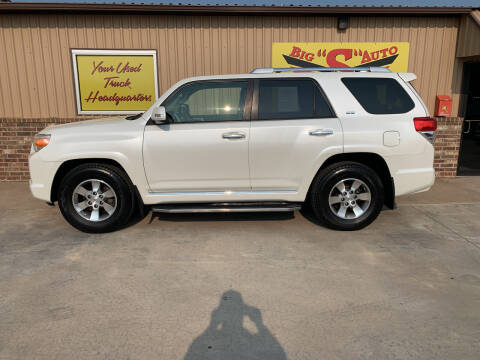 2013 Toyota 4Runner for sale at BIG 'S' AUTO & TRACTOR SALES in Blanchard OK