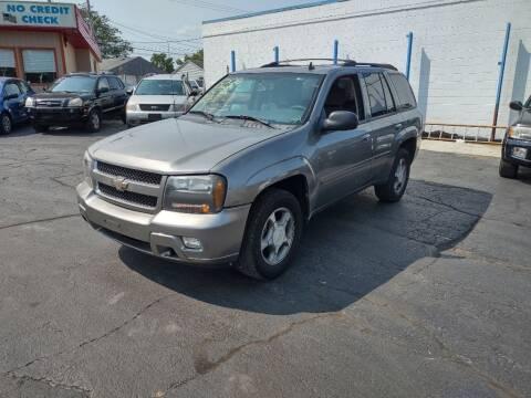 2008 Chevrolet TrailBlazer for sale at Flag Motors in Columbus OH