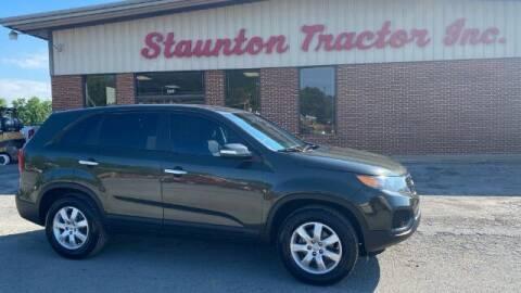 2012 Kia Sorento for sale at STAUNTON TRACTOR INC in Staunton VA