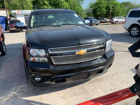 2013 Chevrolet Avalanche for sale at BULLSEYE MOTORS INC in New Braunfels TX