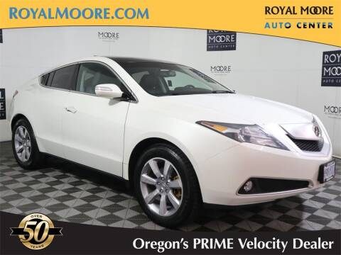 2010 Acura ZDX for sale at Royal Moore Custom Finance in Hillsboro OR