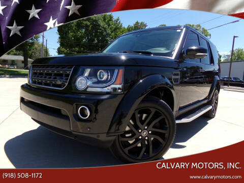 2016 Land Rover LR4 for sale at Calvary Motors, Inc. in Bixby OK