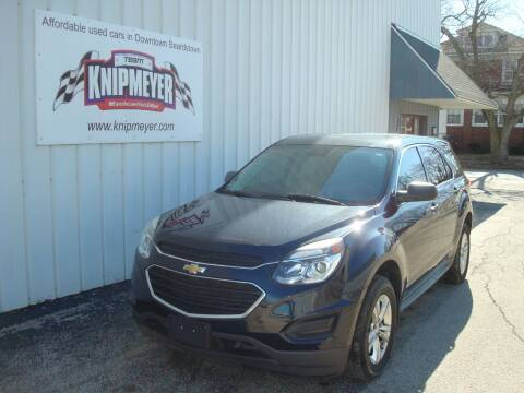 2017 Chevrolet Equinox for sale at Team Knipmeyer in Beardstown IL