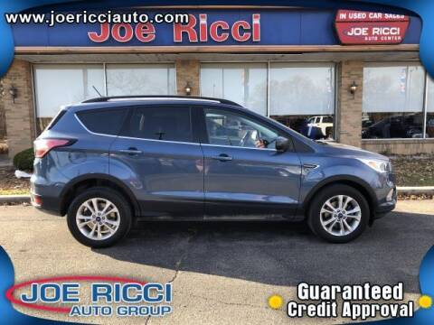 2018 Ford Escape for sale at Mr Intellectual Cars in Shelby Township MI