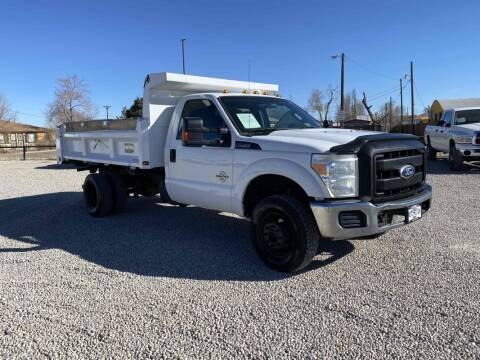 2011 Ford F-350 Super Duty for sale at BERKENKOTTER MOTORS in Brighton CO
