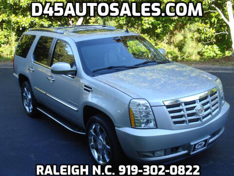 2011 Cadillac Escalade for sale at D45 Auto Brokers in Raleigh NC