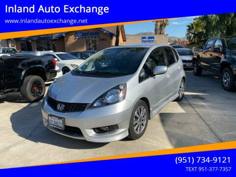 2012 Honda Fit for sale at Inland Auto Exchange in Norco CA