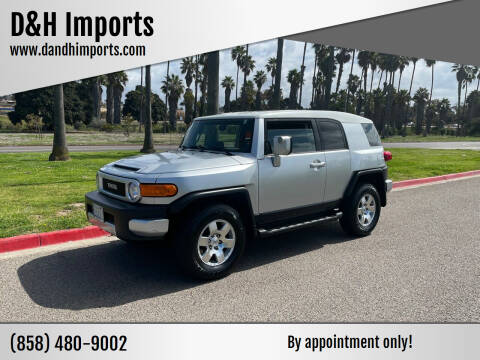 2007 Toyota FJ Cruiser for sale at D&H Imports in San Diego CA