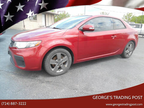 2010 Kia Forte Koup for sale at GEORGE'S TRADING POST in Scottdale PA