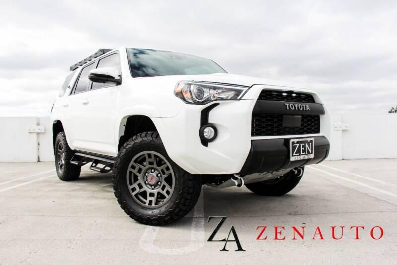 2020 Toyota 4Runner for sale at Zen Auto Sales in Sacramento CA