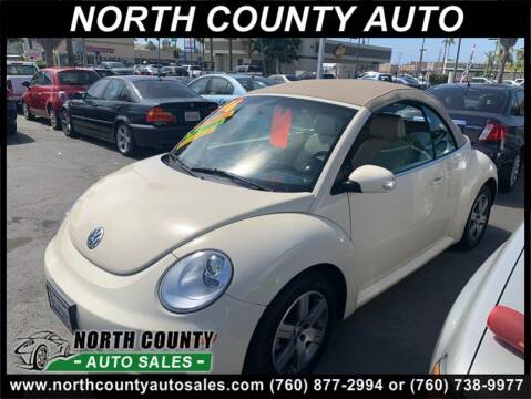 2006 Volkswagen New Beetle for sale at North County Auto in Oceanside CA
