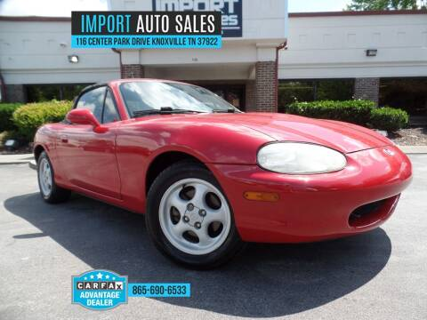 1999 Mazda MX-5 Miata for sale at IMPORT AUTO SALES in Knoxville TN