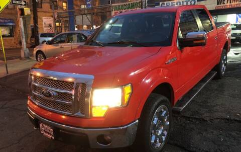2012 Ford F-150 for sale at DEALS ON WHEELS in Newark NJ