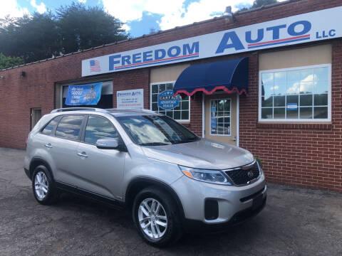2015 Kia Sorento for sale at FREEDOM AUTO LLC in Wilkesboro NC