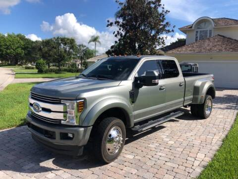 2019 Ford F-450 Super Duty for sale at AUTOSPORT in Wellington FL
