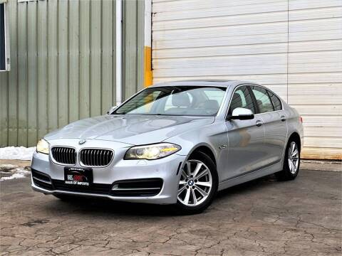 2014 BMW 5 Series for sale at Haus of Imports in Lemont IL