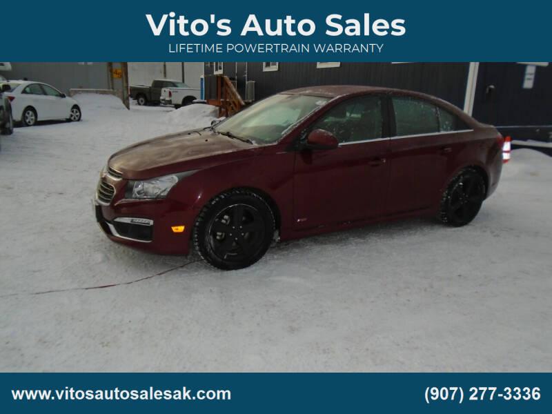 2015 Chevrolet Cruze for sale at Vito's Auto Sales in Anchorage AK