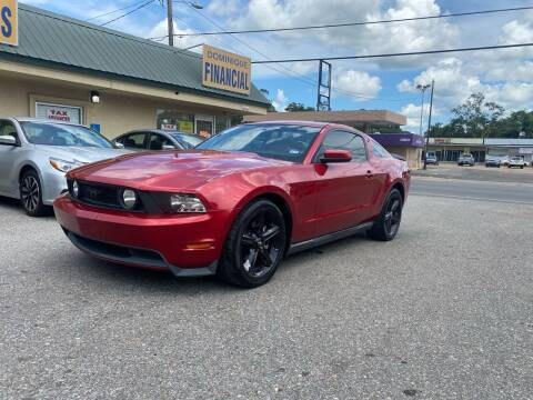 2010 Ford Mustang for sale at Dominique Auto Sales in Opelousas LA