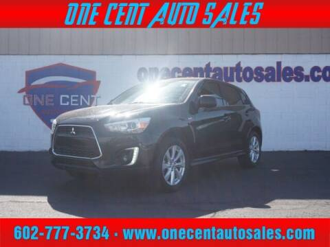 2015 Mitsubishi Outlander Sport for sale at One Cent Auto Sales in Glendale AZ