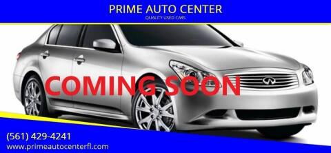 2009 Infiniti G37 Sedan for sale at PRIME AUTO CENTER in Palm Springs FL