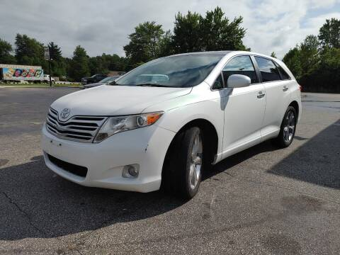 2010 Toyota Venza for sale at Cruisin' Auto Sales in Madison IN