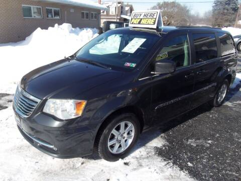 2011 Chrysler Town and Country for sale at Fulmer Auto Cycle Sales - Fulmer Auto Sales in Easton PA