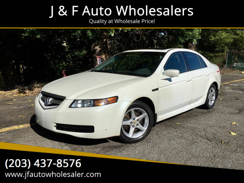2006 Acura TL for sale at J & F Auto Wholesalers in Waterbury CT