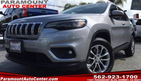 2019 Jeep Cherokee for sale at PARAMOUNT AUTO CENTER in Downey CA
