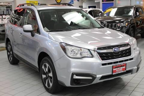 2018 Subaru Forester for sale at Windy City Motors in Chicago IL