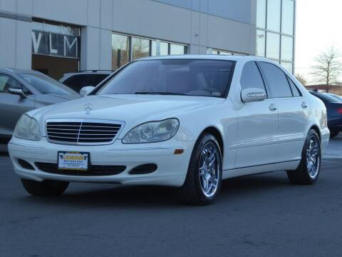 2004 Mercedes-Benz S-Class for sale at Loudoun Used Cars - LOUDOUN MOTOR CARS in Chantilly VA