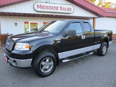 2006 Ford F-150 for sale at Midstate Sales in Foley MN