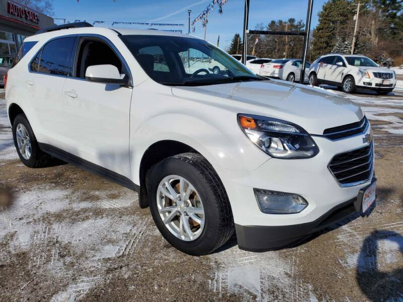2017 Chevrolet Equinox for sale at Extreme Auto Sales LLC. in Wautoma WI