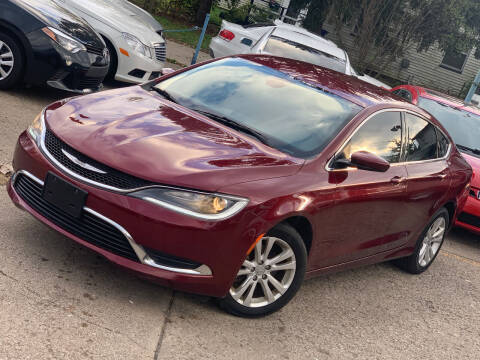 2015 Chrysler 200 for sale at Exclusive Auto Group in Cleveland OH