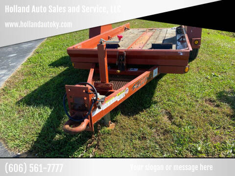 2017 FELLING FT-6 TILT TRAILER for sale at Holland Auto Sales and Service, LLC in Somerset KY