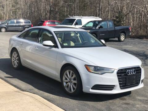2013 Audi A6 for sale at Elite Auto Sales in North Dartmouth MA