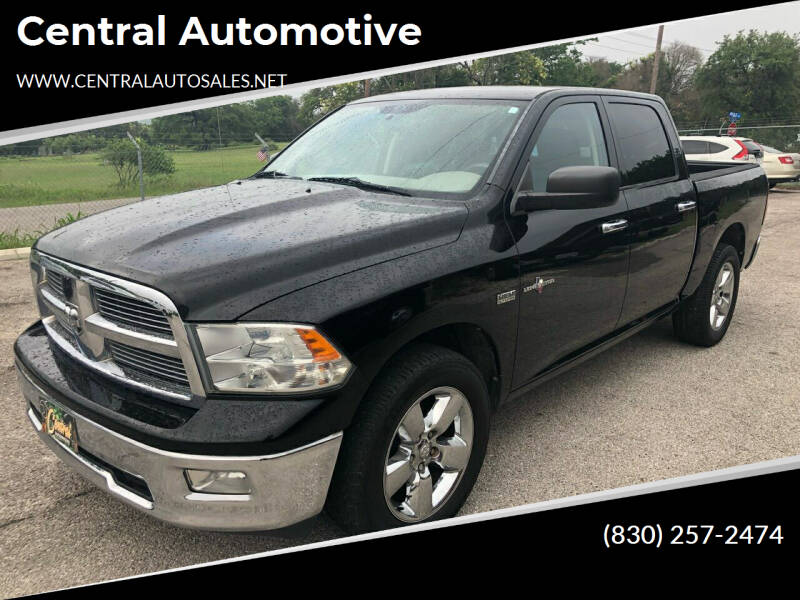 2012 RAM Ram Pickup 1500 for sale at Central Automotive in Kerrville TX