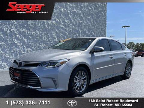 2018 Toyota Avalon Hybrid for sale at SEEGER TOYOTA OF ST ROBERT in Saint Robert MO