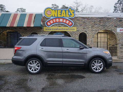 2013 Ford Explorer for sale at Oneal's Automart LLC in Slidell LA