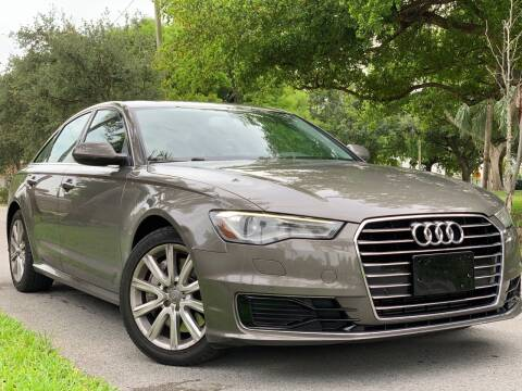 2016 Audi A6 for sale at HIGH PERFORMANCE MOTORS in Hollywood FL
