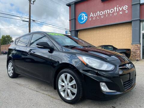 2013 Hyundai Accent for sale at Automotive Solutions in Louisville KY