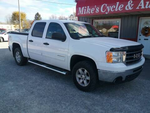 2012 GMC Sierra 1500 for sale at MIKE'S CYCLE & AUTO in Connersville IN