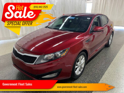 2013 Kia Optima for sale at Government Fleet Sales in Kansas City MO