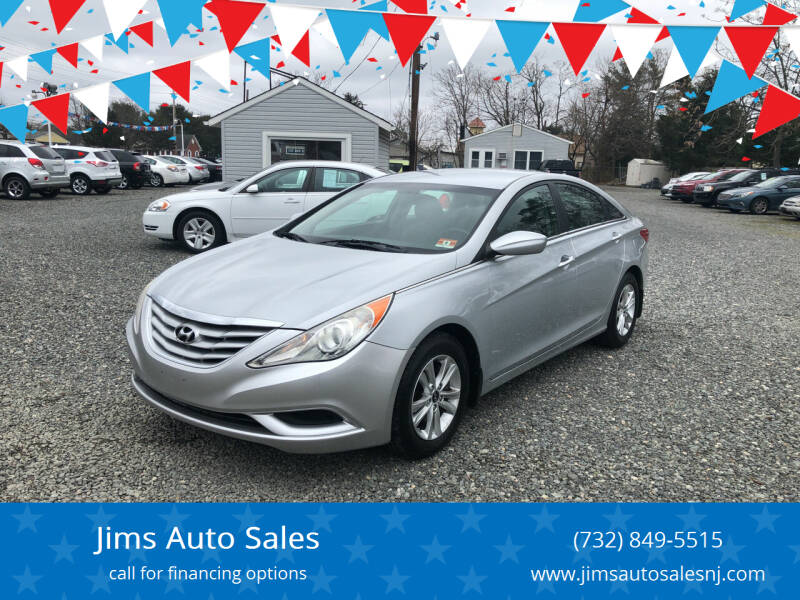2011 Hyundai Sonata for sale at Jims Auto Sales in Lakehurst NJ