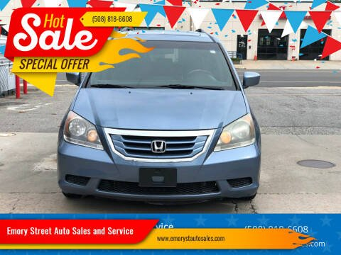 2008 Honda Odyssey for sale at Emory Street Auto Sales and Service in Attleboro MA