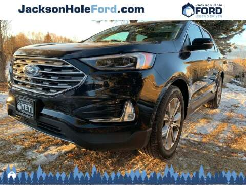 2019 Ford Edge for sale at Jackson Hole Ford of Alpine in Alpine WY