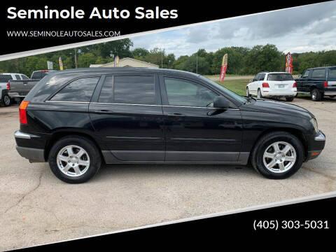 2006 Chrysler Pacifica for sale at Seminole Auto Sales in Seminole OK