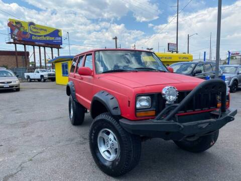 1998 Jeep Cherokee for sale at New Wave Auto Brokers & Sales in Denver CO
