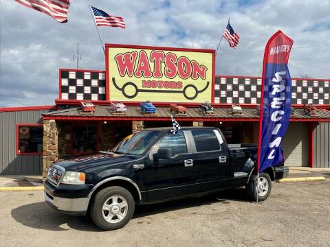 2007 Ford F-150 for sale at Watson Motors in Poteau OK